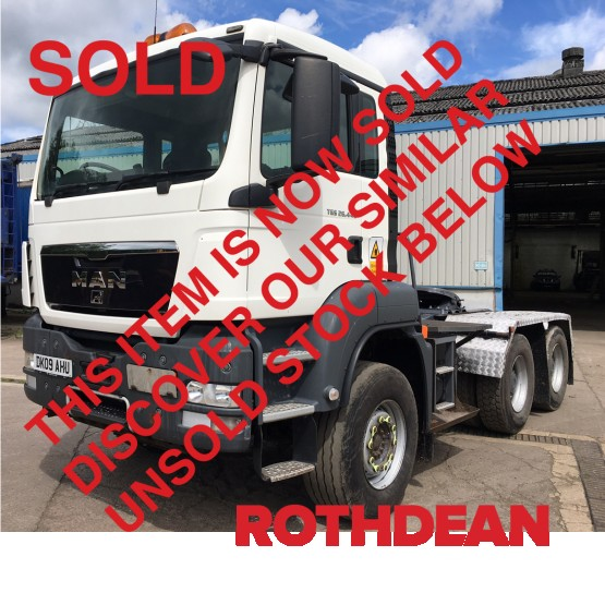 2009 MAN TGS26-440 in 6x4 Tractor Units