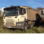 2005 SCANIA P380 TIPPER