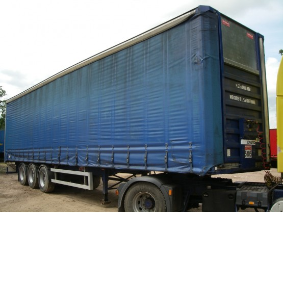 2000 Crane Freuhauf  in Curtain Siders Trailers