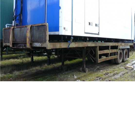 1972 M&G FLAT in Flat Trailers Trailers