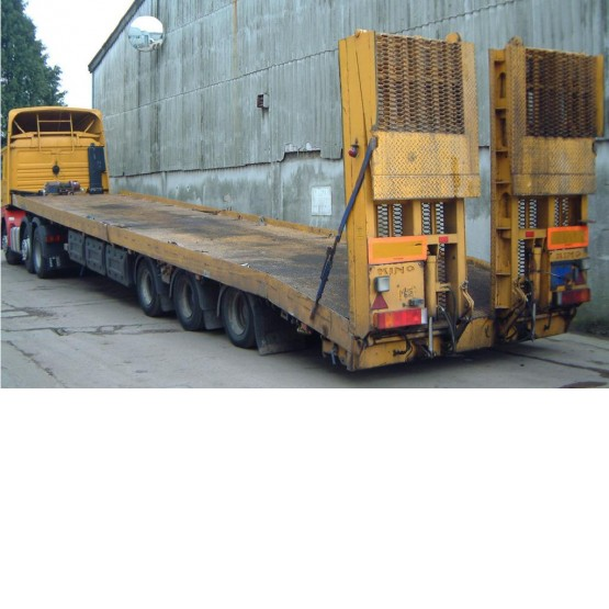 2002 KING MACHINERY CARRIER in Lowloaders Trailers