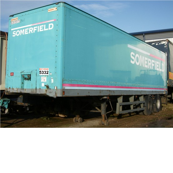 1994 Montracon BOX TANDEM in Box Trailers Trailers