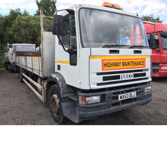 2003 IVECO 180 E24 TECTOR in Flatbed/Beavertail Rigid Vehicles