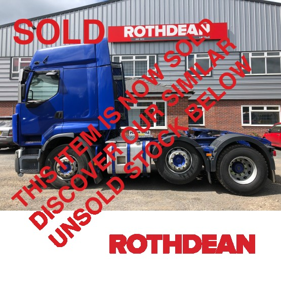 2012 RENAULT PREMIUM 460 PRIVILEGE in 6x2 Tractor Units