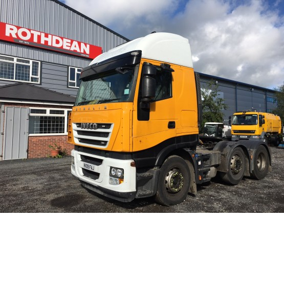 2009 IVECO STRALIS ACTIVE SPACE in 6x2 Tractor Units