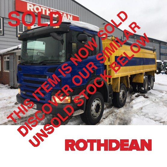 2008 SCANIA P3802 in Tippers Rigid Vehicles