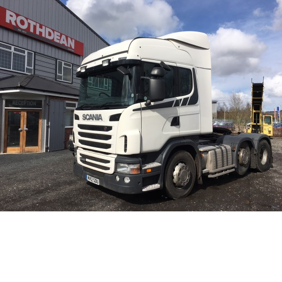 2012 SCANIA G440 EURO 5 in 6x2 Tractor Units
