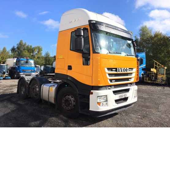 2010 IVECO STRALIS ACTIVE SPACE in 6x2 Tractor Units