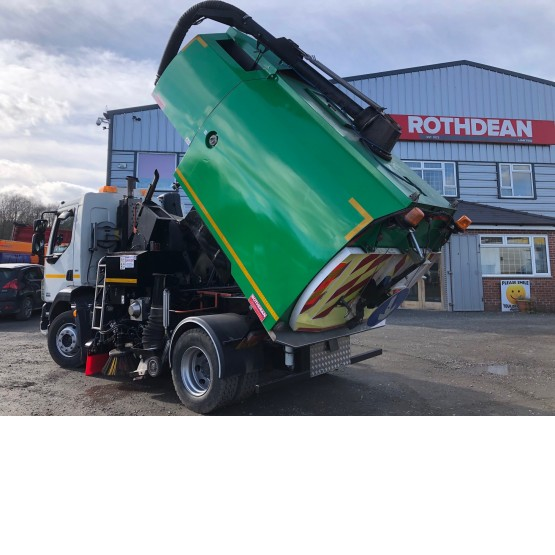 2012 DAF LF55-220 EEV in Truck Mounted Sweepers