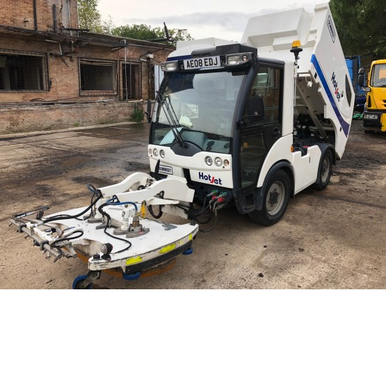 2008 SCHMIDT NC300 HOT JET SWEEPER in Compact Sweepers