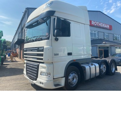 2012 DAF SUPERSPACE CAB XF 105-510