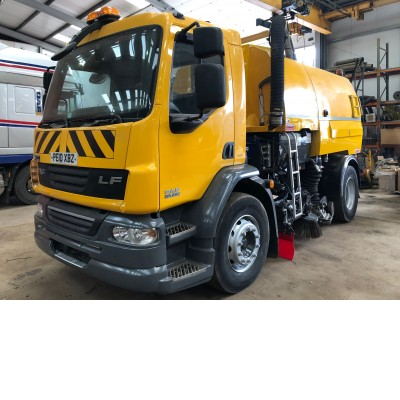 2010 DAF LF55-220 SWEEPER