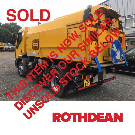 2009 DAF LF55-220 in Truck Mounted Sweepers