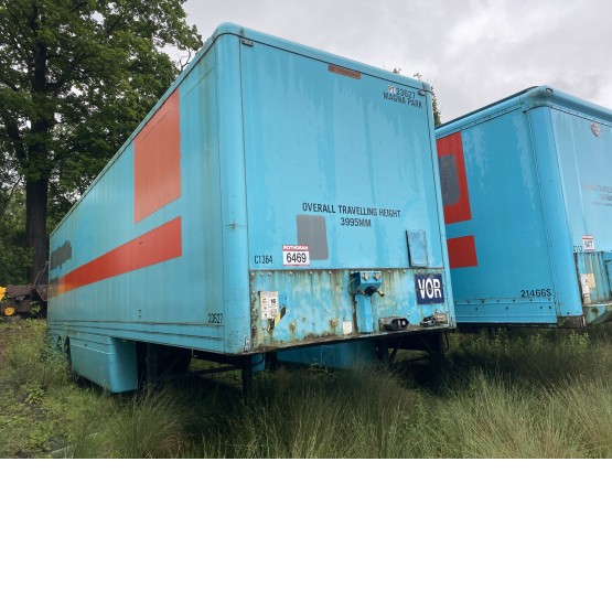 2005 Lawrence David  in Box Trailers Trailers